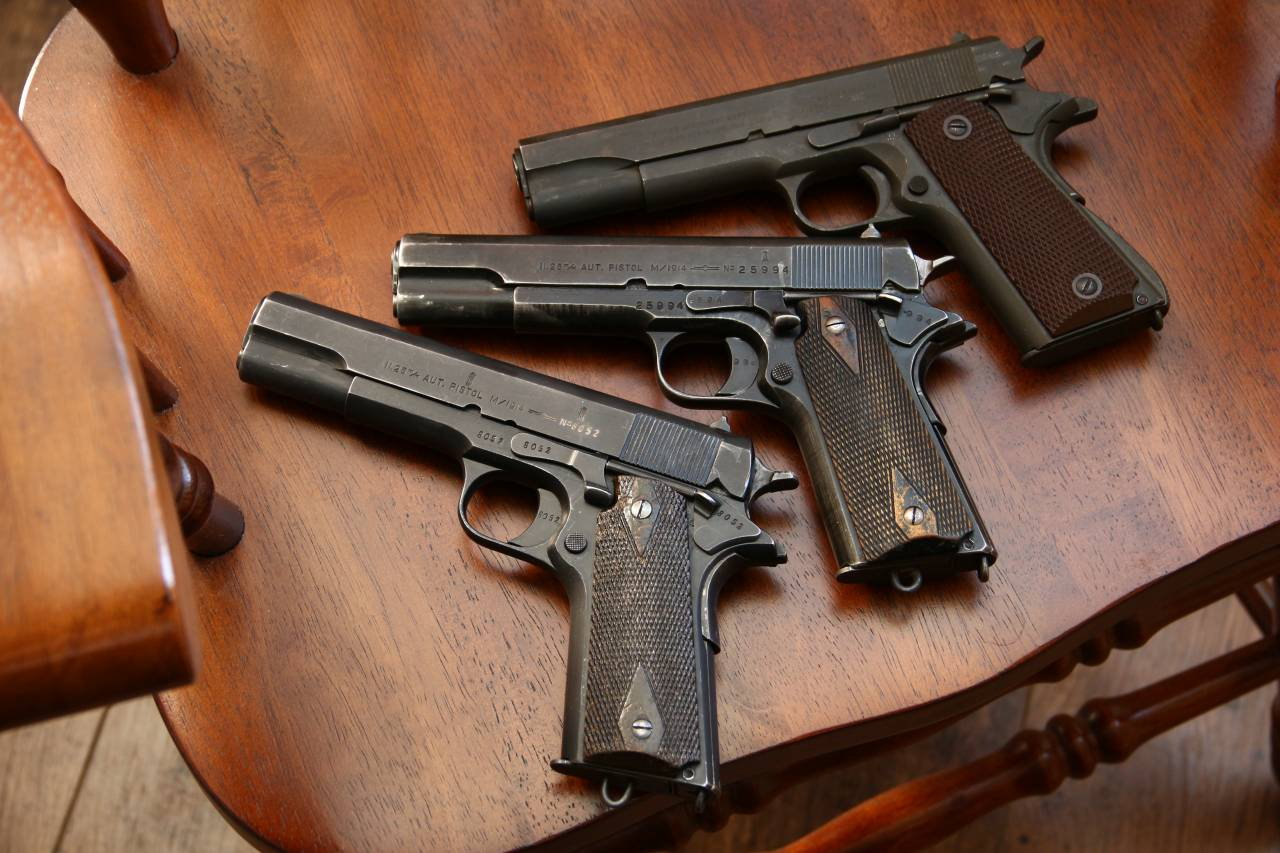 Норвежский пистолет Kongsberg m1914 «Kongsberg Colt»