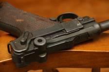 Пистолет Люгер Парабеллум P-08 #4846 1917-1920 (дабл-дейт) года с предохранителем «Шиви»