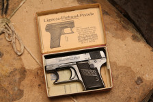 Жилетный пистолет Lignose Einhand «одна рука»  #43628, коллекционный комплект