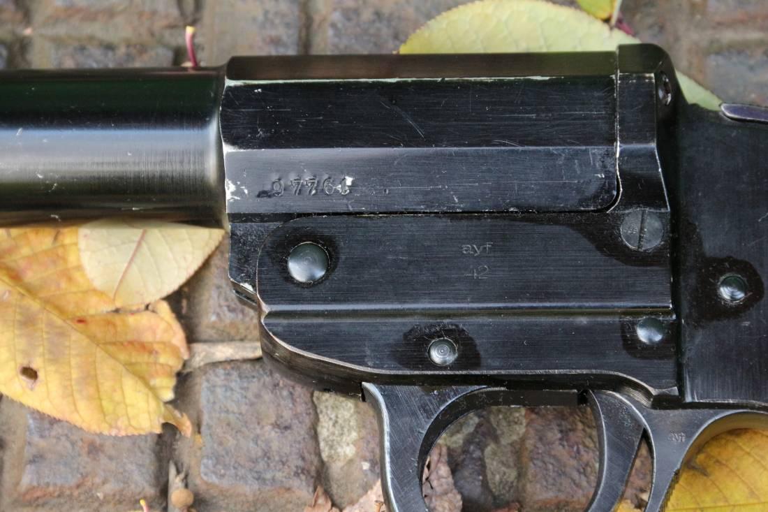 Фото Ракетница Walther LP-34 ayf42 #9776e, 1942 год, люкс