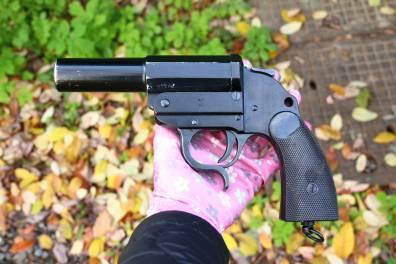 Ракетница Walther LP-34 ayf42 #9776e, 1942 год, люкс
