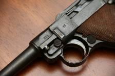 Пистолет Люгер Парабеллум P-08 #251 1921 года с предохранителем «Шиви»