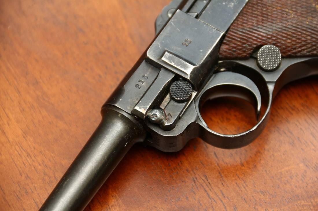 Фото Пистолет Люгер Парабеллум P-08 #213 1937 года