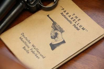Наставление к пистолету Parabellum, 1906 год