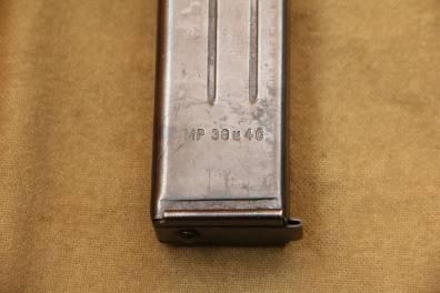 Оригинальный магазин M.P. 40 завод bte, 1942 год