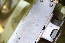 Пулемет Максим 1945 года, номер №АГ77, коллекционное состояние