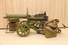 Охолощенный пулемет Максим 1936 года, №831, коллекционный комплект, ТОЗ