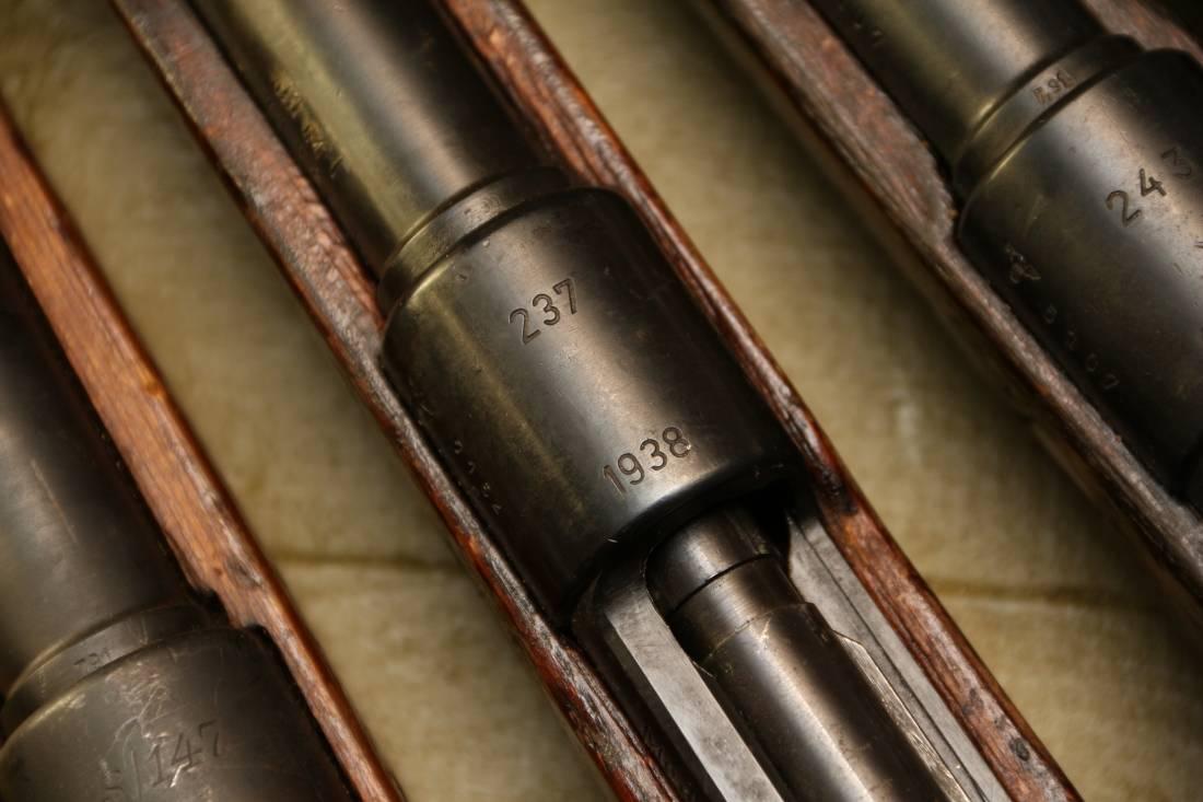 Фото Карабин Mauser K98, #7152, 1938 год, завод 237 Berlin-Luebecker Maschinenfabriken, Werk Luebeck