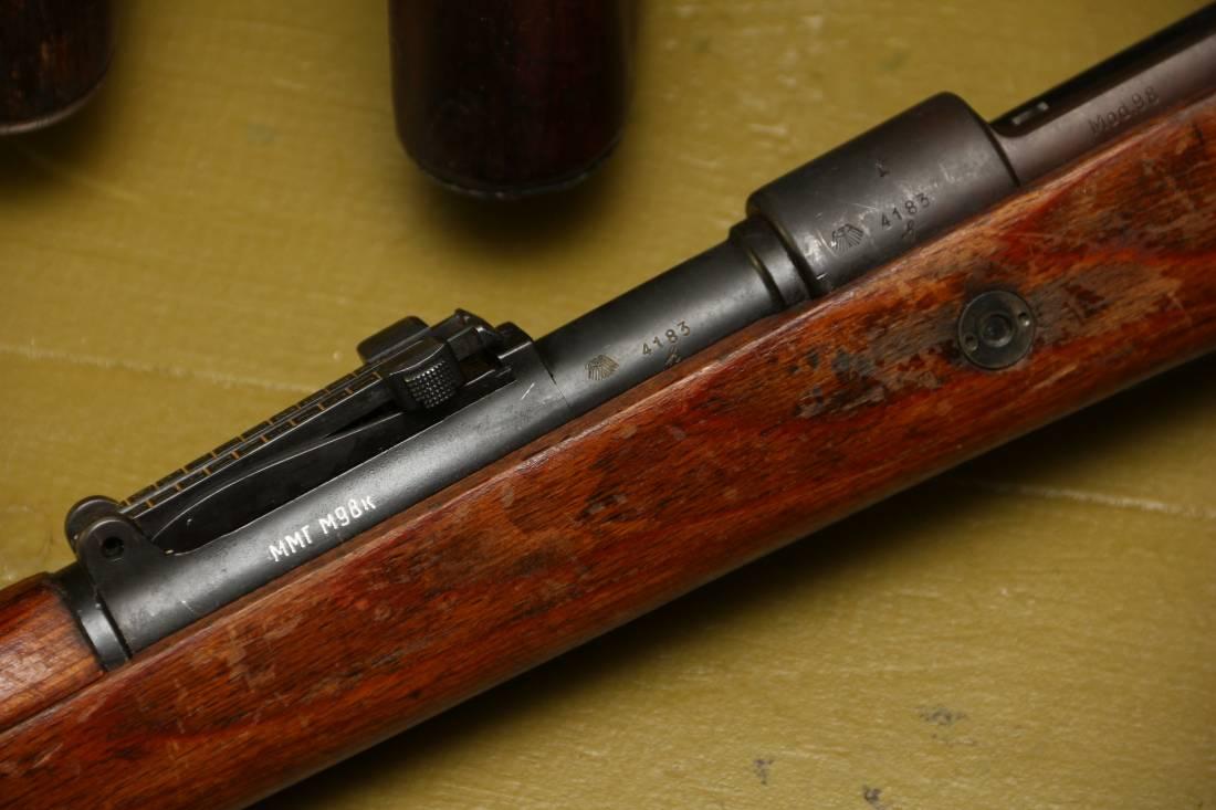 Фото Карабин Mauser K98, #4183, 1937 год, завод S/147 J.P. Sauer & Sohn, Suhl