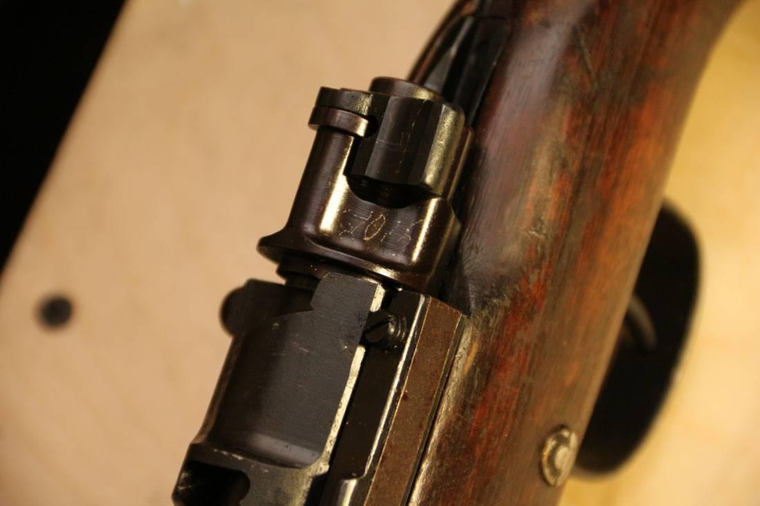 Фото Карабин Mauser K98, #7015, 1940 год, завод 337 Gustloff Werke, Werk Weimar, Weimar
