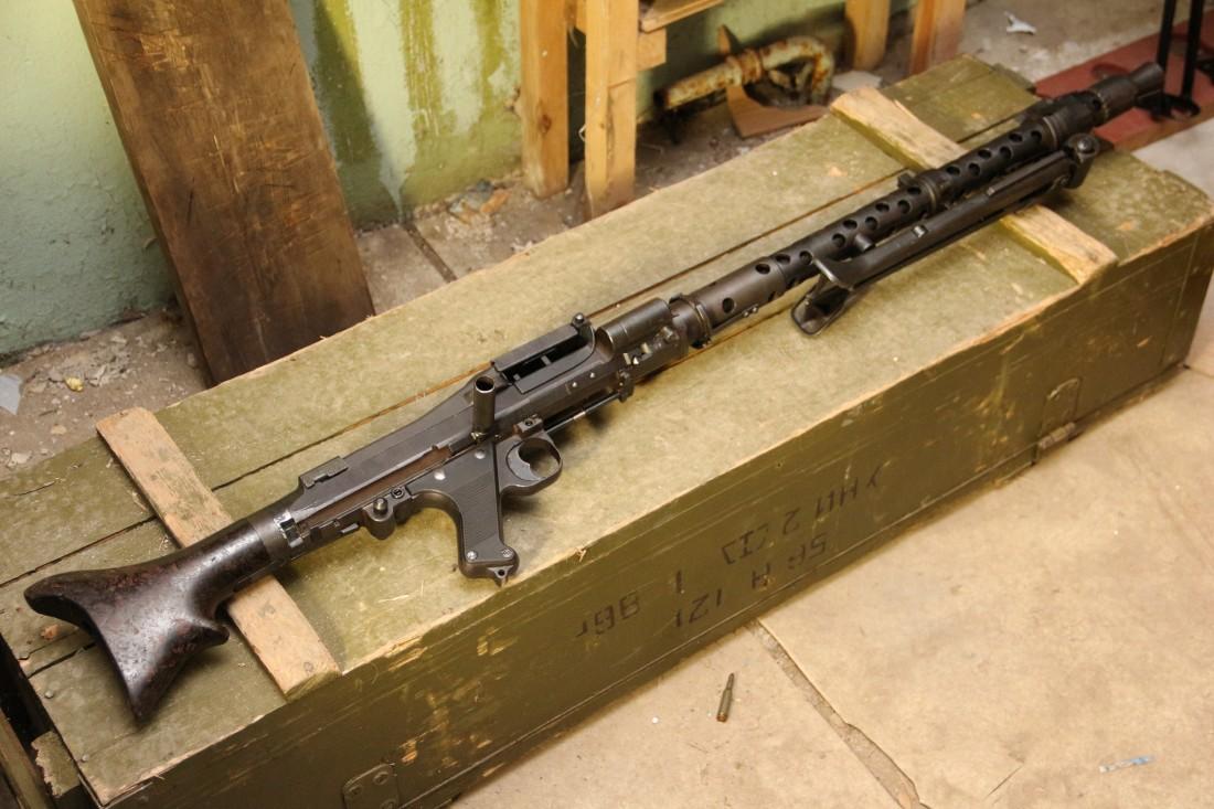 Фото Немецкий пулемет MG-34 dot 1943 652b