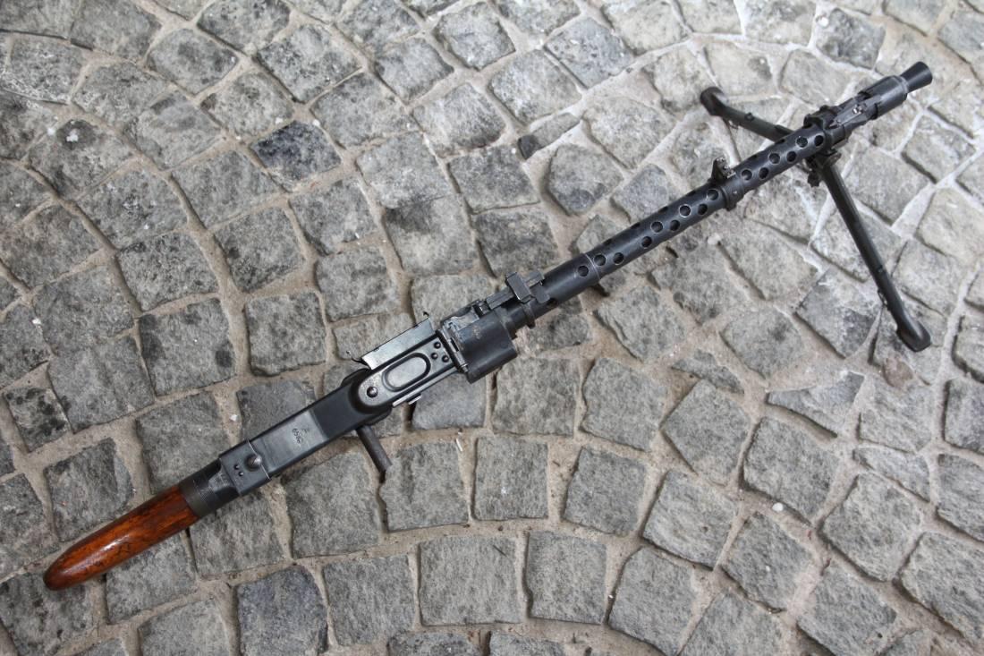 Фото Немецкий пулемет MG-34, 1941 года, №1445