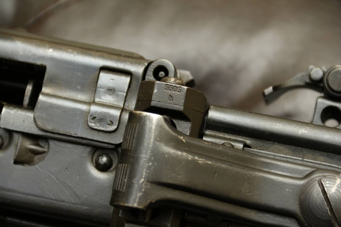 Фото Немецкий пулемет MG-42, завод dfb Gustloff-Werke (Suhl) 1941, #5393h