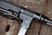 Немецкий пистолет-пулемет M.P. 38 «27» 1940 год #3519a