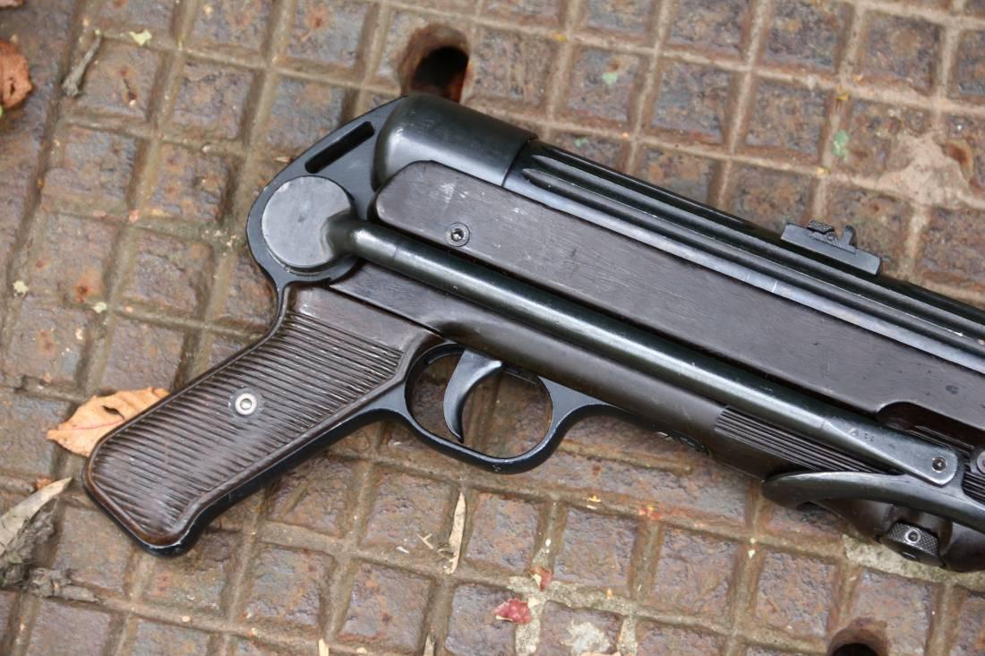 Фото  Немецкий пистолет-пулемет M.P. 38 «27» 1940 год #3519a