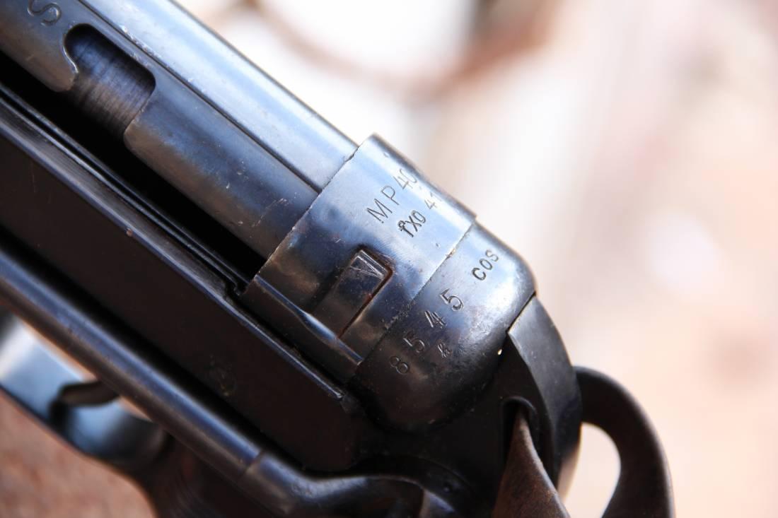 Фото Немецкий пистолет-пулемет M.P. 40 fxo 1941 год #8545