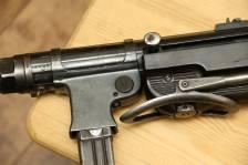 Немецкий пистолет-пулемет MP40 завод 660 Steyr-Daimler Puch, Steyr, Austria, 1940 год #9947