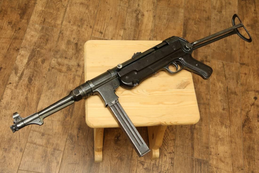 Фото Немецкий пистолет-пулемет MP40 завод 660 Steyr-Daimler Puch, Steyr, Austria, 1940 год #9947