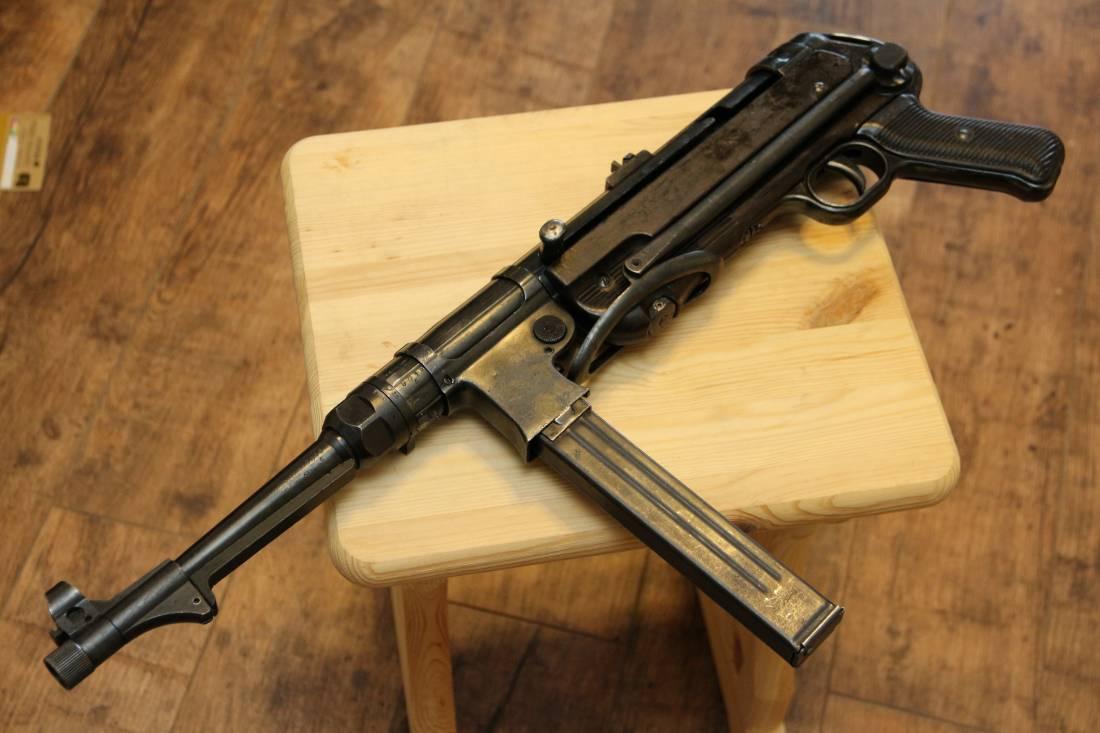 Фото Немецкий пистолет-пулемет MP40 завод 660 1940 год #9018