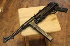 Немецкий пистолет-пулемет MP40 завод 660 Steyr-Daimler Puch, Steyr, Austria, 1940 год #9018