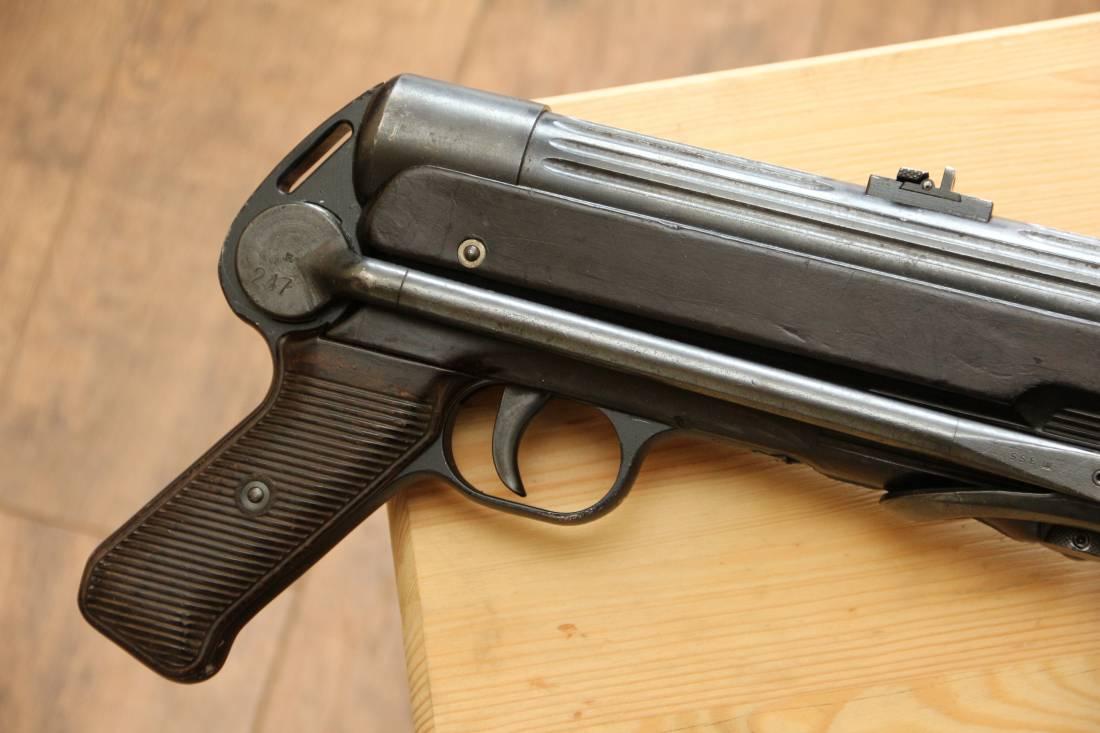 Фото Немецкий пистолет-пулемет M.P. 38 ayf 1941 год #7355
