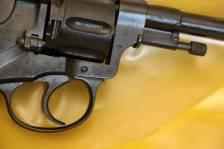 Охолощенный царский револьвер Наган 1912 года, №61185