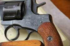 Охолощенный револьвер Наган РНХТ 1938 года, №ДФ729, бюджетный