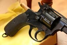 Охолощенный револьвер Наган 1930 года №26051, в родне