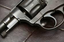 Охолощенный револьвер Наган 1921 года, клеймо РСФСР, №13212
