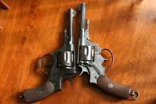 Револьвер Nagant m1887 #1362, царский период