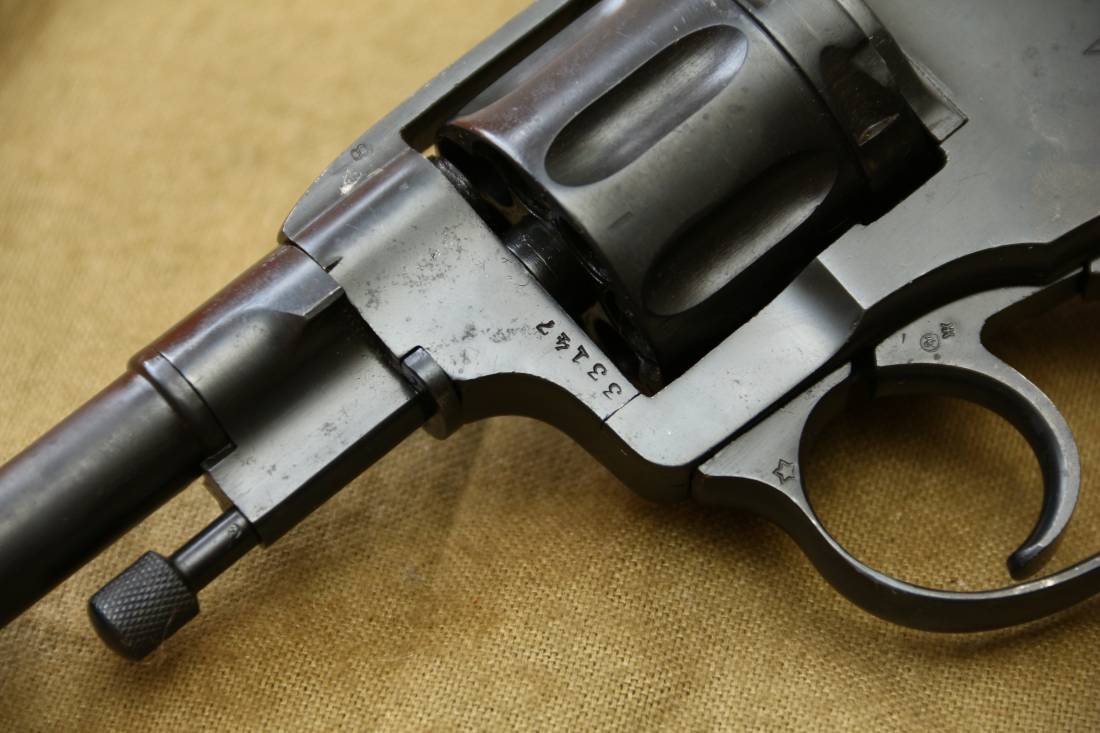 Фото Револьвер Наган 1936 года №33147