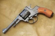 Револьвер Наган Р/ЦОМ 1940, бывший царь 1905 года, №1698