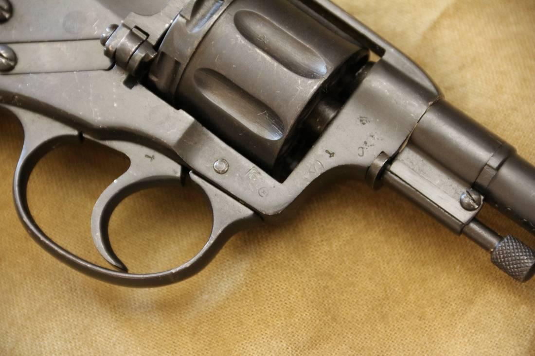 Фото Револьвер Наган Р/ЦОМ 1940, бывший царь 1905 года, №1698