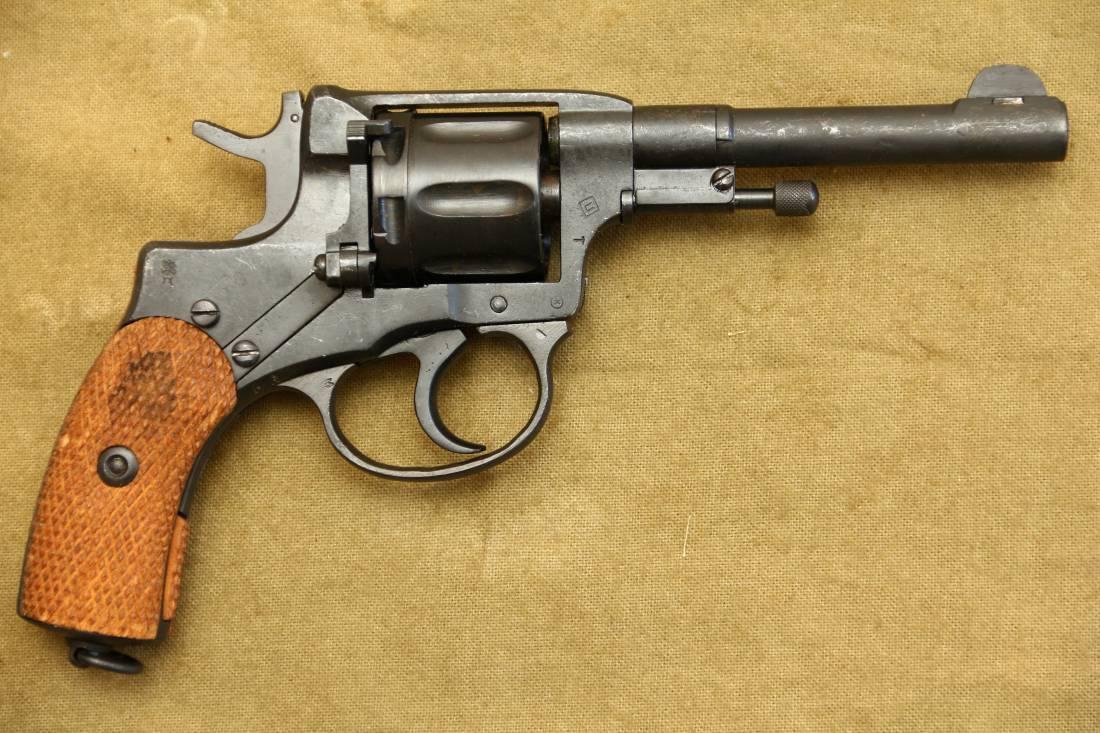 Фото Царский револьвер Наган 1918 года №29809