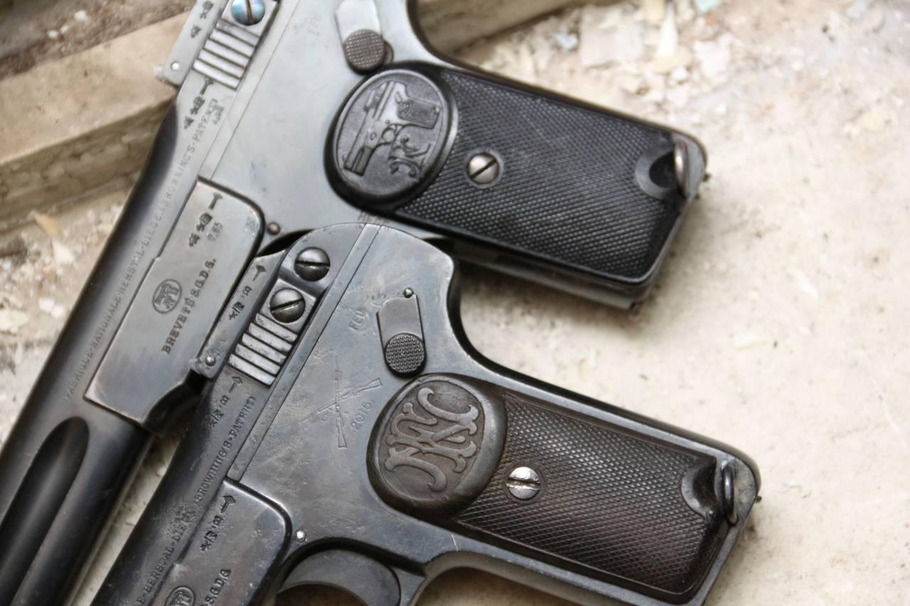 Легендарный пистолет Browning модели FN1900