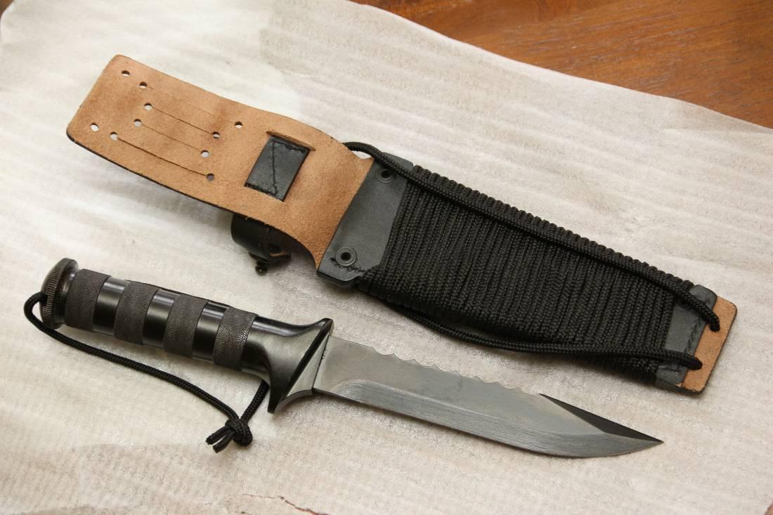 Фото Армейский нож Эльф, спецназ ГРУ, №К513, тульский