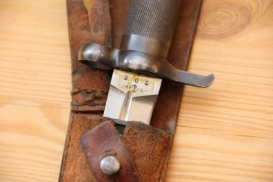 Штык-нож образца 1896 года к винтовке системы Маузера, с подвесом
