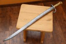 Штык-нож к французской винтовке Шасспо, парный, отличный сохран