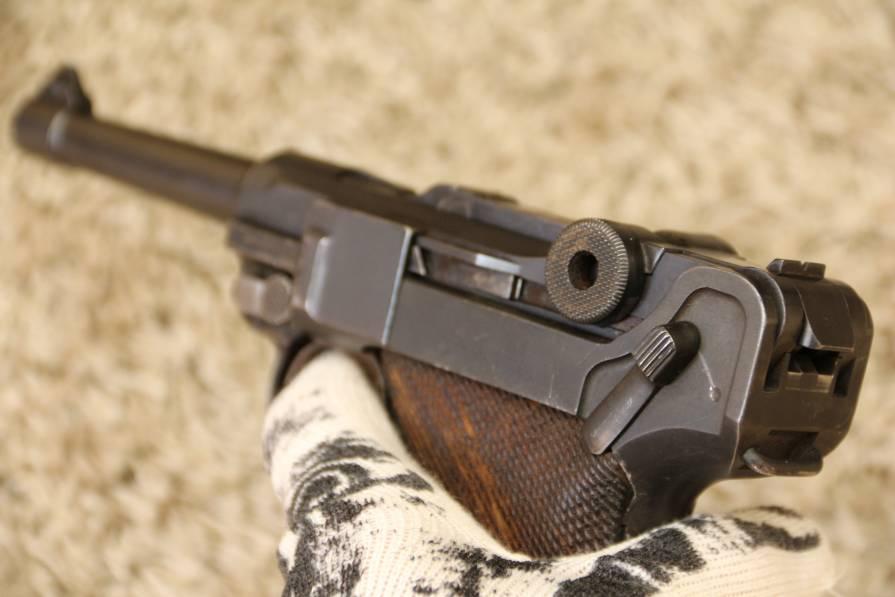 Фото Пистолет Люгер Парабеллум P-08, коммерческий вариант