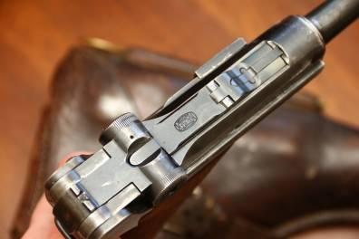 Пистолет Люгер Парабеллум P-08 #1191; коммерческий вариант с «бочкой Mauser»