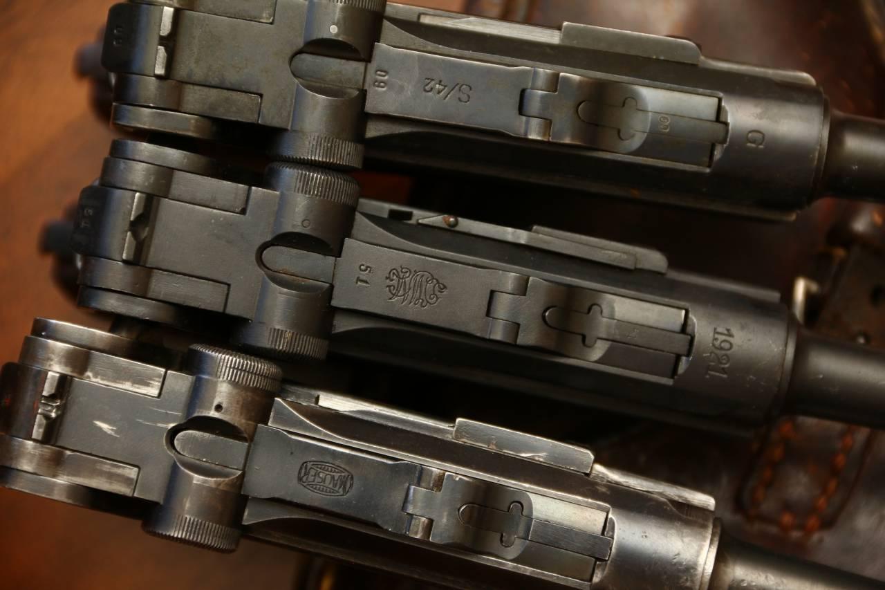В коллекцию Люгеров:  «бочка Mauser»