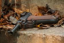 Охолощенный пистолет Parabellum P08 1918 года #8942