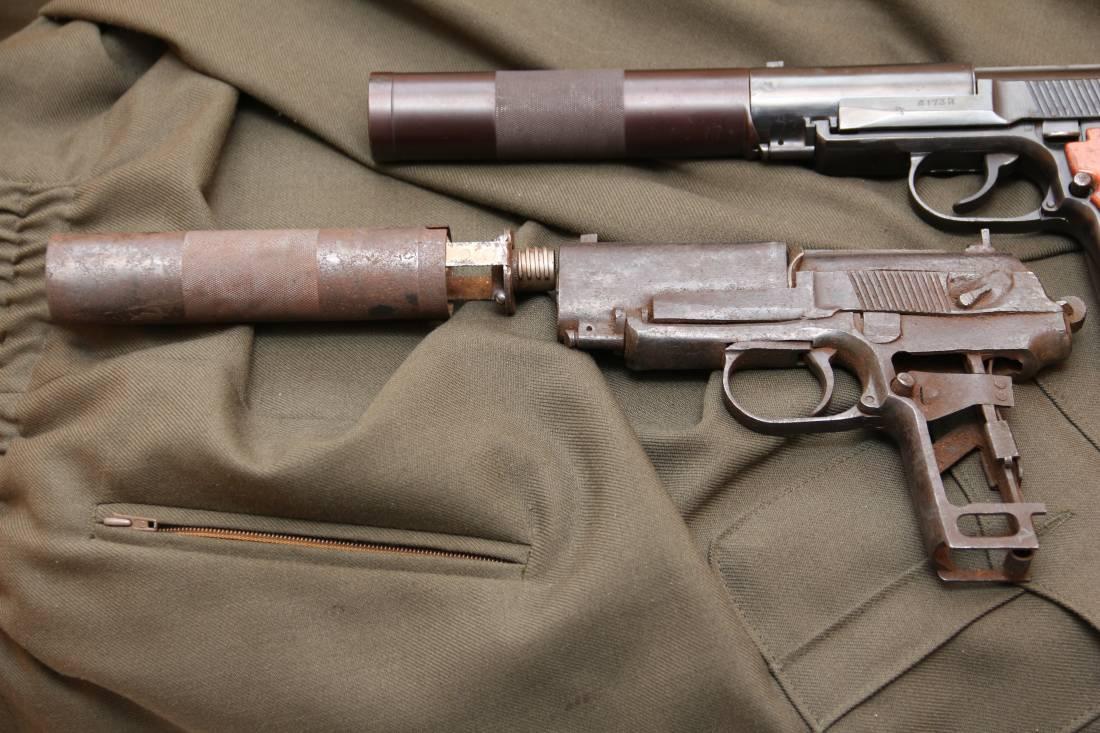 Фото Утилизированный бесшумный пистолет ПБ, индекс ГРАУ 6п9