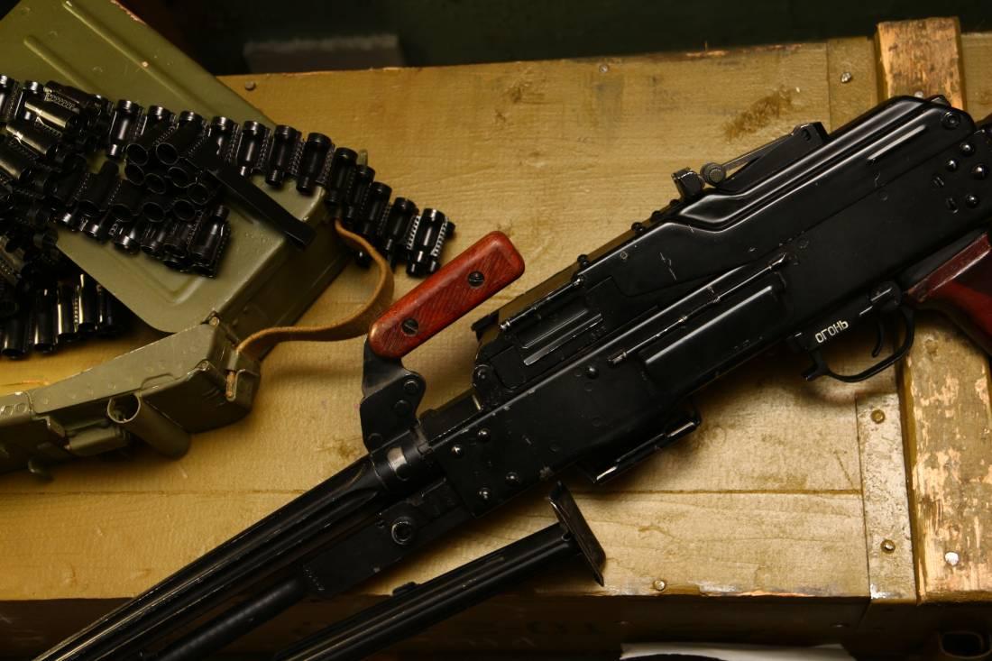 Фото Советский пулемет Калашникова 1966 года «ПК» №ИМ393
