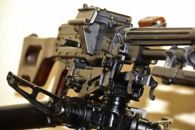 Советский пулемет Калашникова 1966 года «ПК» №ИМ393, станок Саможенкова 1966 года
