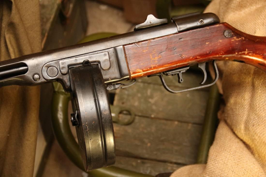 Фото Охолощенный ППШ-СХ 1942 года №ДО535