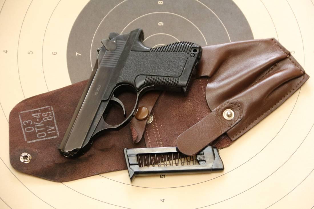 Фото Пистолет ПСМ №РВ0222 1993 года, комплект