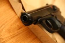 """Охолощенный пистолет Макарова Р-411 №1844202046 """"БОРОДАЧ"""""""