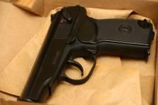 Охолощенный пистолет Макарова Р-411 №1844201936 «классический»