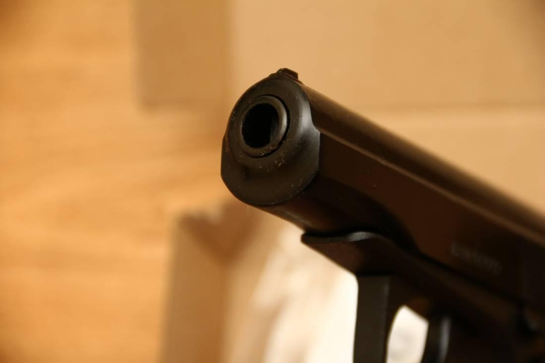 Фото Охолощенный пистолет Макарова Р-411 №1844202039 «очень большая борода»